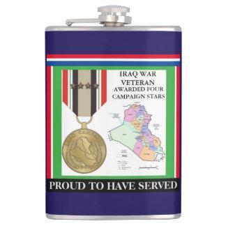 FÖR IRAK FÖR 4 KAMPANJSTJÄRNOR VETERAN KRIG