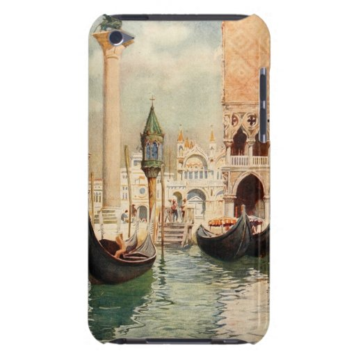 För italienVenedig för vintage antik relikskrin go Barely There iPod Skal
