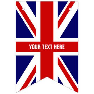 För jackflagga för DIY brittiskt fackligt baner Vimplar