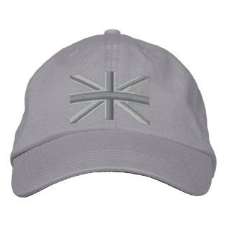 För jackflagga för silver facklig för England Broderad Keps
