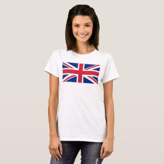 För jackflagga för UK fackligt fjäll för 1:2 T-shirt