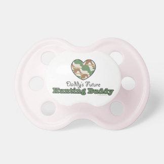 För jaktkompis för pappor framtida rosor för nappa napp för barn