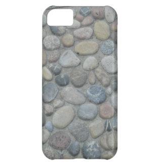 För Jamaica för mönster för stensmåstenstenar foto iPhone 5C Fodral
