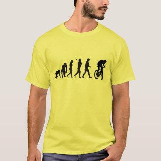 För jerseybiker för mountainbike gul skjorta t-shirts