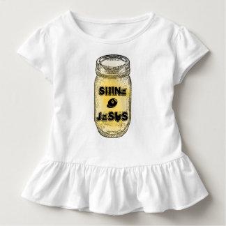 För Jesus för sken 4 flicka för burk Mason Tee Shirt