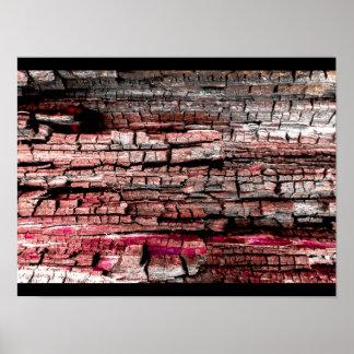 """För JTG-konst """"för rött Wood kungarike"""" affisch"""