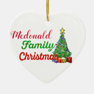 för juldekoration för beställnings- familj första
