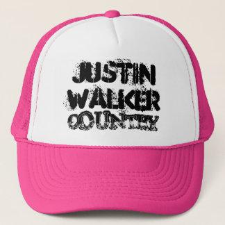 För Justin för damer rosa truckerkeps för land