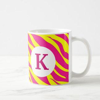 För kafferosor för Monogram anpassningsbar Kaffemugg