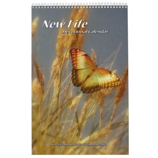 För kalendersingel för nytt liv Devotional sida Kalender