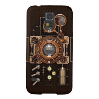 För kameramörk för vintage TLR upplaga Galaxy S5 Fodral