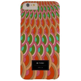 För kammusslamönster för orientalisk stilfull barely there iPhone 6 plus fodral