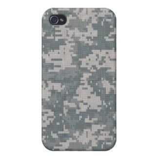 För kamouflageiPhone 4/4S för ACU Digital fodral iPhone 4 Hud