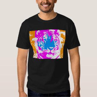 För KANADA för COREY-TIGER80-tal ANSIKTE TIGER T-shirt