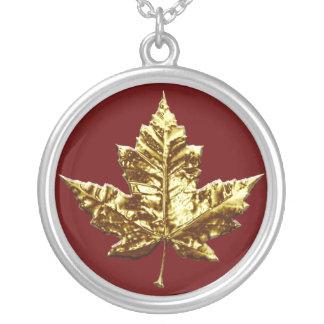 För Kanada för Kanada halsband guld- smycken souve