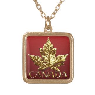 För Kanada för Kanada halsbandguldmedalj smycken h