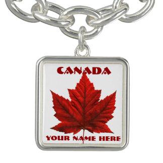 För Kanada för Kanada souvenirarmband armband flag
