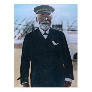 För kaptenEdward för RMS Titanic vintage smed Vykort