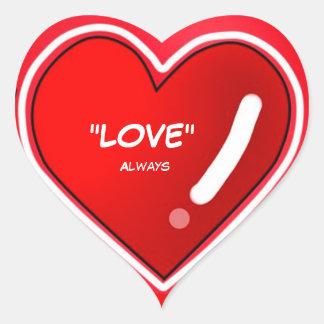 För kärlek klistermärke alltid
