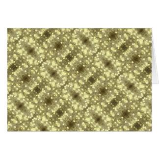 För kärleken av att ge sig - guld- glitterkort hälsningskort