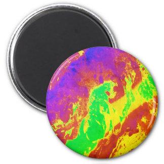 För kärleken av färg - Kaleidoscope Magnet