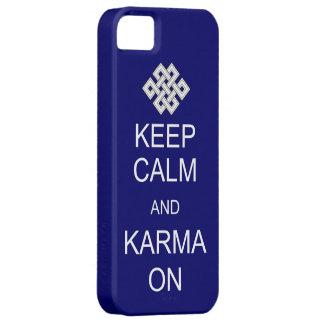 För Karmacasematen för behållan täcker den lugnaa iPhone 5 Fodraler