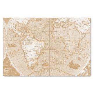 För kartasilkespapper för gammal värld papper