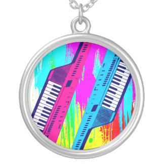 För Keytar för Corey tiger80-tal halsband Splatter