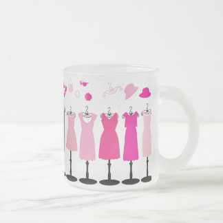 för klänningklänningar för PINKS dress-163552 Frostad Glas Mugg