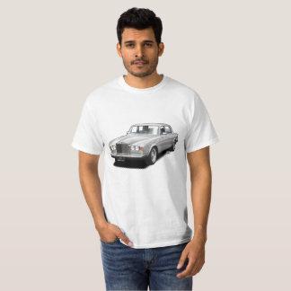 För klassikerbil för silver rullande kunglig tshirts