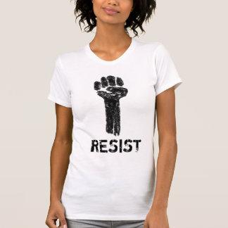För klotterkonst för motstånd Grungy utslagsplats Tee Shirts