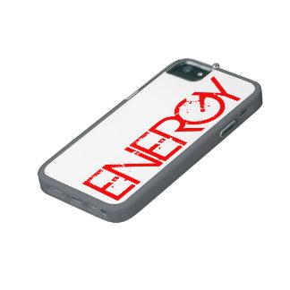 För knegiPhone 5/5S för energi rött fodral iPhone 5/5S Fodral
