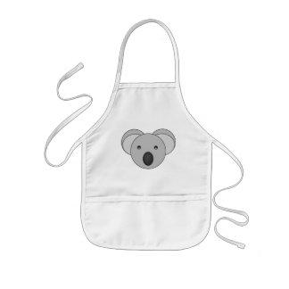 För Koalabjörn för ungar gulligt förkläde