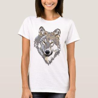 För konsttatuering för varg Head design Tee Shirts