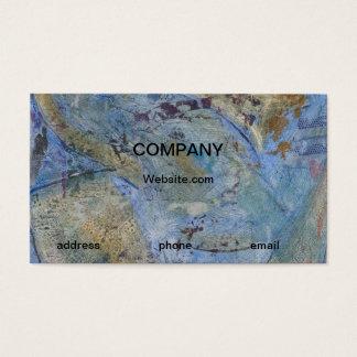 För konstvisitkort för Grunge modern stads- Visitkort