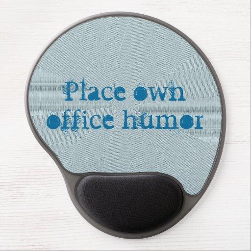 För kontors humorblått för stället vadderar den eg gelé musmatta