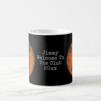 För kråkaGeezer för pensionär gammal gåva för Gag Kaffemugg