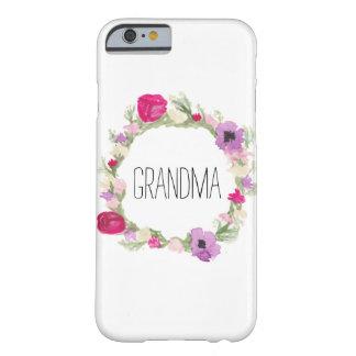 För kranfodral för mormor blom- gåva för mors dag barely there iPhone 6 skal