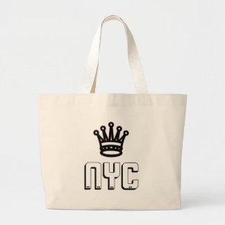 För kronajumbo för NYC New York City toto Jumbo Tygkasse