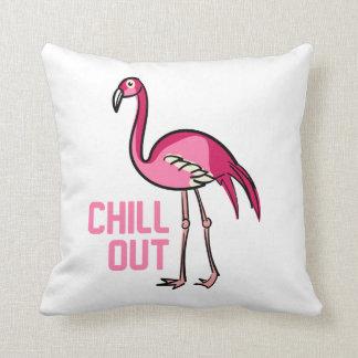 För kyla Flamingodekorativ kudde ut