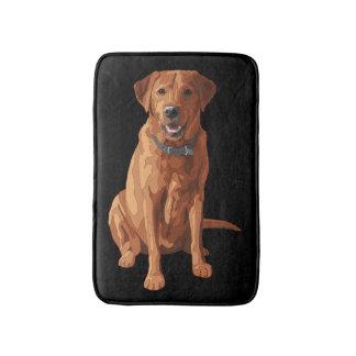 För Labrador för räv röd gul hund Retriever Badrumsmatta