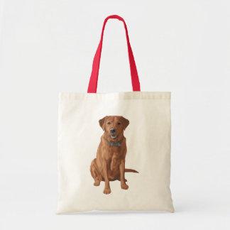 För Labrador för räv röd gul hund Retriever Tygkasse