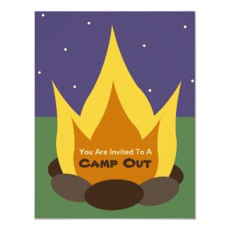 För läger inbjudan ut - lägret avfyrar