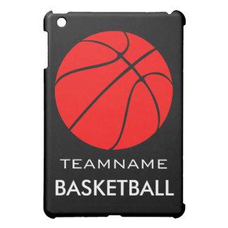 För lagnamn för röd basket beställnings- fodral iPad mini mobil fodral