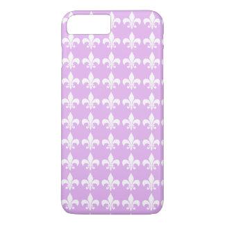 För lavendellilor för mönster Fleur-de-lis design
