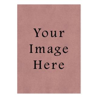 För lavendelParchment för vintage rosa rosa lilor  Set Av Breda Visitkort
