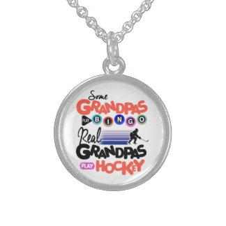 För lekBingo för några morfäder hockey för lek för Halsband Med Rund Hängsmycke