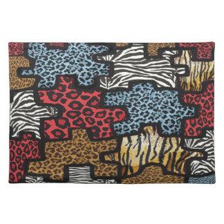 För Leopardsebra för RAB Rockabilly bordstablett f