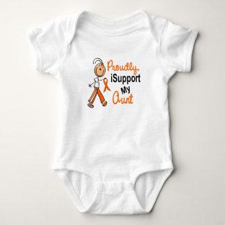 för Leukemiams för iSupport 1 SFT MOSTER för T-shirt