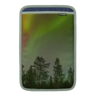 För ljushimmlar för norrsken nordlig gnistra för MacBook air sleeve